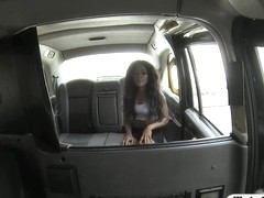 Hot ass ebony pounded by fraud driver