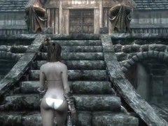 Perils of escaped Skyrim slavegirl 21
