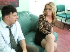Sheena Shaw & Anthony Rosano in Naughty Office