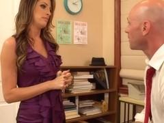 Kortney Kane & Johnny Sins in Naughty Office