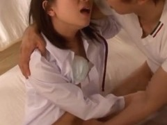 Nice teen Koharu Aoi is into dick riding