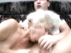 Hard grandmas banging session