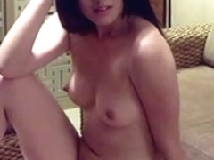 Naked Chinese girl poses for the camera with lust
