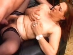 big beautiful woman Hirsute Aged Woman with Younger Stud