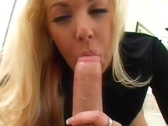 Slutty Blond Gets Pov Fucked Hard