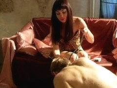Smoking Mistress's Feet Worshiped