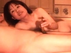 Asian mature woman in a hot and steamy sexual intercourse