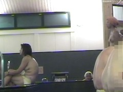 Asian girls perform shower room spy cam pussy flash dvd 03002