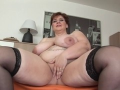 Unforgettable Shorthair-big beautiful woman Mother I'd Like To Fuck - Dildoing & Posing