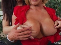Big Tits at Work: Office 4-Play: Christmas Edition!