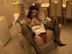 Azumi Harusaki Japanese doll in bondage sex