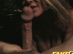 FakeTaxi: Large wang enjoys large mangos and soaked blowjobs