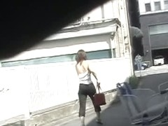 Japanese sharking of a pale skinny girl with nice titties porno