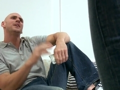 Johnny Sins gets caressed by hot Nika Noire