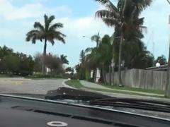 Man seduces milf to screw right in his car