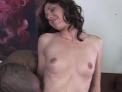 Mom Katie Angel gets fucked by a BBC in front of her son