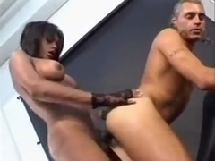 Fabulous Homemade Shemale clip with Latin, Threesome scenes