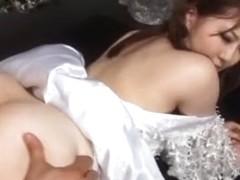 Crazy Japanese model Momoka Nishina in Incredible Cosplay JAV scene