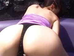 Fabulous Japanese girl Akari Hoshino, Anna Kaneshiro, Momo Takai in Incredible Cunnilingus, Ass JA.