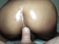 Busty Ladyboy Bareback Drill And Fisting