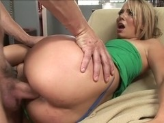 Alluring Hannah West gets her wet pussy pummelled
