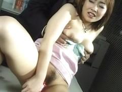 Amazing Japanese slut in Hottest JAV uncensored Dildos/Toys clip