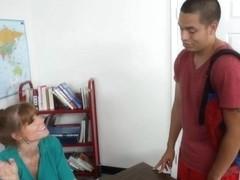 Darla Crane & David Loso in My First Sex Teacher