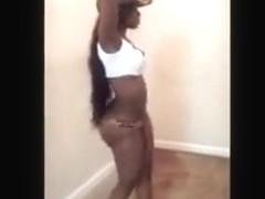 Fabulous twerking livecam solo clip