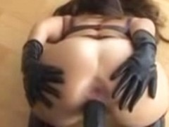 Depraved anal toying