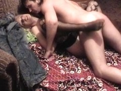 Nylons dilettante gal getting cunt and booty worked up