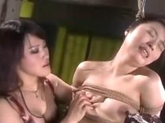 Natsuki in S&M lesbo club (two)