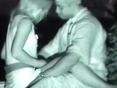 These guys have extreme sex in the park on hidden camera