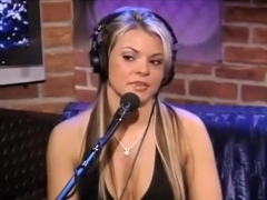 Courtney Culkin In Howard Stern's Tickle Chair