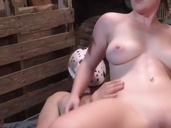 Big tits amateur hardcore with cum in mouth