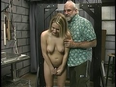 Blond with sexy pierced marangos acquires tortured