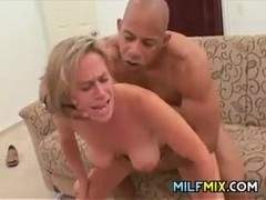 Slutty MILF Riding A Thick Cock