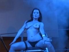 Simone Shine (Elektra) on italian stage