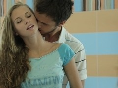 Slutty Raphael and her sex partner are in free porn