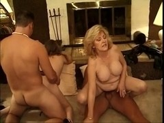 Classic Hawt Older Cougars Foursome