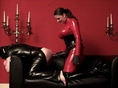 Belt On Latex Excess