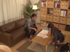 Japanese AV Model horny teacher gets fucked in classroom