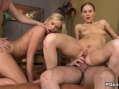 James Brossman, Lindsey Olsen, Choky Ice, Sabrina Meor in Sexual retreat Scene