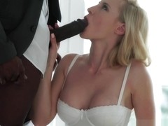 Euro beauty anally fucked by BBC