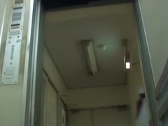Japanese sharking video recorded in the hospital lift