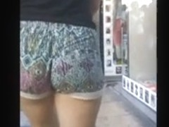 Cute Teen Jiggle Butt