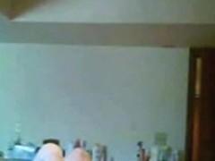 milf doesnt know she has hidden cam in her bedroom
