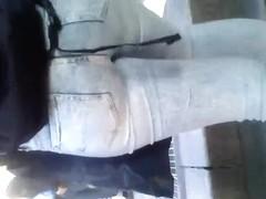Jeans round Ass Voyeur