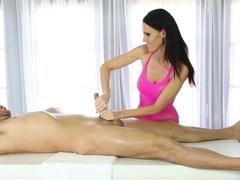 Hottest pornstars Jennifer Dark, Will Powers in Crazy MILF, Blowjob porn movie