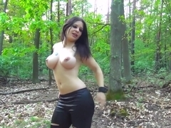 Fabulous pornstar Aviva Rocks in Amazing Outdoor, Creampie adult scene