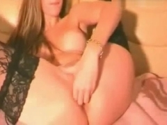 Hot Blonde Fisting and Dildoing her Ass